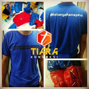 Jasa Pembuatan Sablon Kaos Murah di Jakarta Tangerang