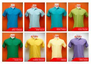 Pembuatan Kaos Kerah Bordir Murah