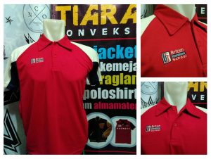 Vendor Polo Shirt Bordir