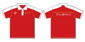 Polo Shirt Bordir Seragam Kantor
